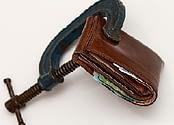 Squeeze wallet
